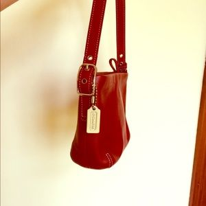 Red Small Coach Purse